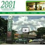 Lançamento do site do Travessia 2001